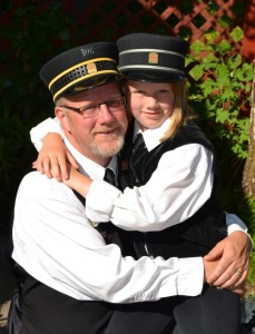 Last year as a surprise Brianna joined her Dad (Chris Holland) for the annual Father's Day - Dads ride for Free