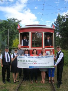 Nelson District Credit Union Pay for Canada Day Fares - Free Rides for Everyone