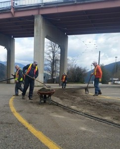 Cleaning the Tracks for Streetcar#23