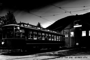 Streetcar#23 is ready for the Haunted tours on October 15th